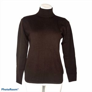 Country Shop Chocolate Brown Cashmere Sweater